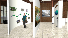 Hand renderings by nicole mcneal at for Endicott college interior design