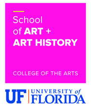 University of Florida, School of Art + Art History k Company Logo
